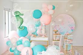 Under The Sea Mermaid Birthday Party Pretty My Party Party Ideas
