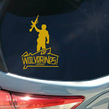 Wolverines 2020 Vinyl Sticker Decal Red Dawn Soviet Communist War Rebel Ak 47 For Sale Online Ebay