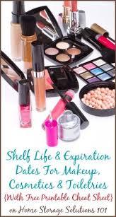 shelf life of makeup cosmetics