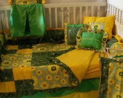 john deere sunflower crib bedding free