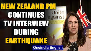 New Zealand PM continues TV interview ...
