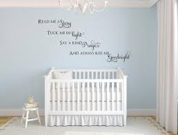 Kiss Me Goodnight Wall Decal Inspirational Wall Signs