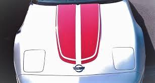 Corvette C4 Hood Stripes 1984 1996