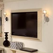 frame for a flat screen tv