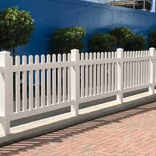 Straight 6 Ft W X 4 Ft H Picket Fence Panel Simple Fencing Simplefencing Co Uk