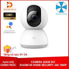 Bản Quốc tế] Camera wifi giám sát Xiaomi Mi Home Security 360° 1080P + Tặng  củ sạc giá rẻ 789.000₫