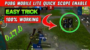 pubg mobile lite me quick scope ...