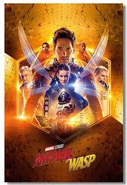 Custom Canvas Wall Mural Marvel Ant Man Poster Ant Man And The Wasp Wall Stickers Superheroes Wallpaper Living Room Decor 0442 Buy At The Price Of 5 99 In Aliexpress Com Imall Com