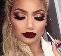 dramatic eye makeup for your new year s