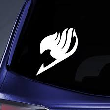 Amazon Com Bargain Max Decals Fairy Tail Logo Sticker Decal Notebook Car Laptop 5 White Automotive