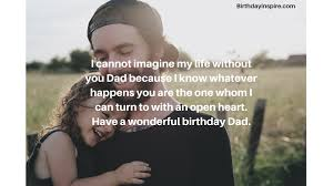 best birthday wishes for dad to his day special