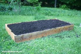 raised bed for vegetables or flowers gf