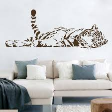 A004 Vinyl Wall Stickers Animal Cheetah Leopard Panther Removable Wall Decal For Kids Nursery Living Rooms Home Decoration Removable Wall Decals Wall Decalsvinyl Wall Stickers Aliexpress