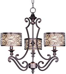 mondrian 3 light 25 inch umber bronze