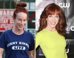 kathy griffin no makeup before and after