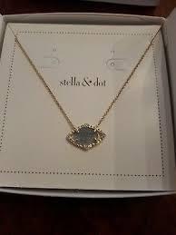 stella dot charlotte pendant necklace