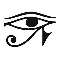 24 Eye Of Ra Symbol Egyptian Decal Sticker