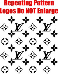 Louis Vuitton Step And Repeat Pattern Decal Sticker 09