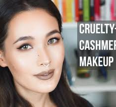 free cashmere kitty makeup look