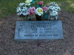 Iva Sanders Pritchett (1910-1999) - Find A Grave Memorial