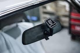 Mirror Sticker Windshield Outside Car Bone Pl