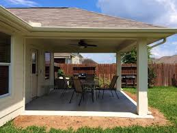 build a patio in houston texas weigh