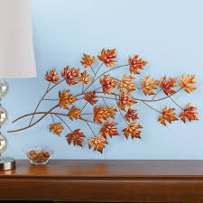 Maple Leaf Branch Wall Decor Collections Etc