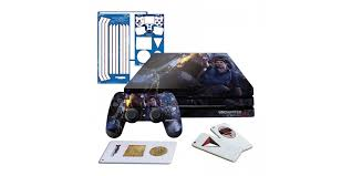 Uncharted 4 Fire Fight Ps4 Pro Horizontal Console And Controller Gaming Skin Pack Officially Licensed By Playstation Controller Gear