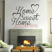 Sanume Sweet Home Family Quote Wall Sticker Art Room Removable Warm Decal Us Excellent Walmart Com Walmart Com