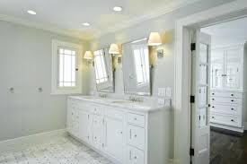 how high to hang a vanity mirror