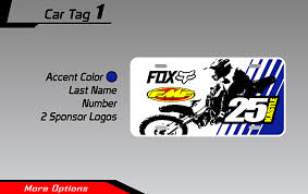 Roost Mx Motocross Graphics Motocross License Plate