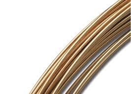 gold round wire supply for jewelry