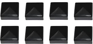 Amazon Com Jsp Manufacturing New Plastic Black 2x2 Fence Post Caps For Metal Plastic Vinyl Or Wood 2 X 2 Posts 2 X 2 Inside Dimension 2 1 4 X 2 1 4 Outside