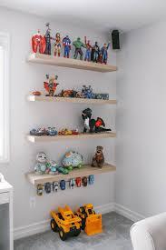 Ikea Inspired Bright White Modern Play Room In 2020 Kids Room Shelves Ikea Toy Storage Floating Shelves Bedroom