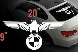 Bmw Eagle German Car Rear Window Vinyl Stickers Decals For M3 M5 M6 E36 All Window Vinyl Rear Window Bmw