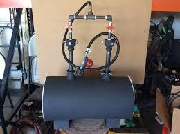 double burner propane forge blacksmith