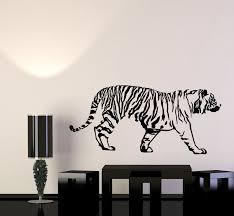 Vinyl Wall Decal Tribal Decor Tiger Predator Animal Big Cat Stickers M Wallstickers4you