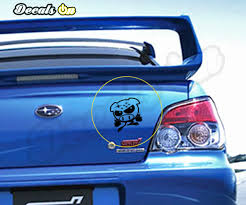 Subaru Devil Pig Body Decals Decalson Awesome Car Decals