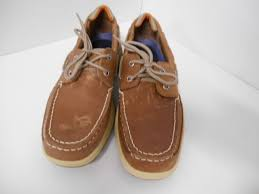 sperry top sider boat shoe brown
