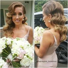 Bridesmaids Hollywood Waves Hairstyle Fryzura Slubna Fryzury