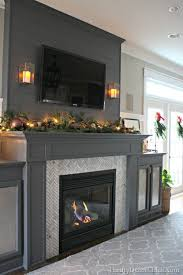 gray fireplace marble tile a gorgeous