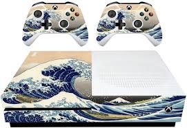 Vwaq The Great Wave Off Kanagawa Skin Xbox One S Wrap Decal Xsgc8