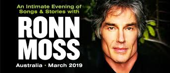 Songs & Stories with Ronn Moss - Perth - Eventfinda