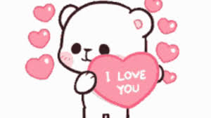 cute i love you gif find share on giphy