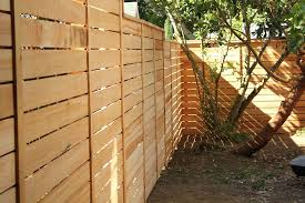 Pacific Horizontal Fence Cascade Fence Deck
