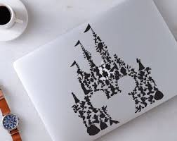 Macbook Decal Disney Etsy