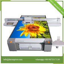 glass digital flatbed printer