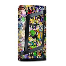 Skin Decal For Smok Alien 220w Mod Vape Anime Stickerslap Sticker Bomb Itsaskin Com