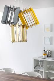diy recycled cardboard pendant lights