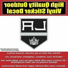 Los Angeles Kings Decals Bumper Stickers Kingsground Com